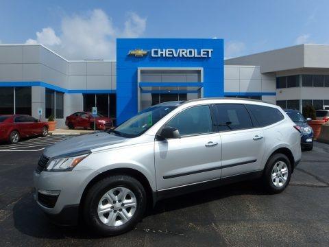 Silver Ice Metallic 2014 Chevrolet Traverse LS