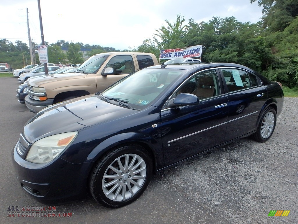 Midnight Blue Metallic / Morocco Brown Saturn Aura XR