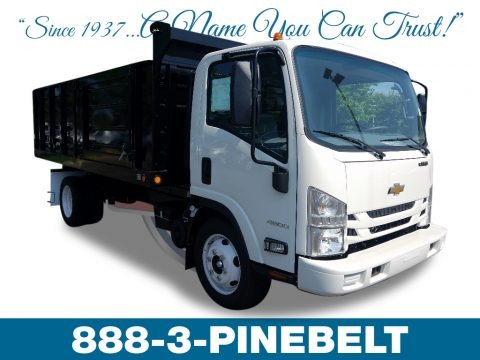 Summit White 2018 Chevrolet Low Cab Forward 4500 Hauling Truck