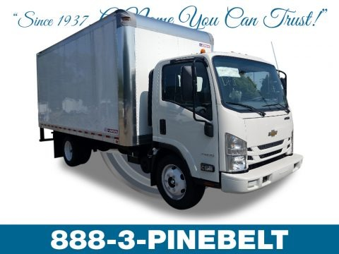 Summit White 2018 Chevrolet Low Cab Forward 4500 Moving Truck