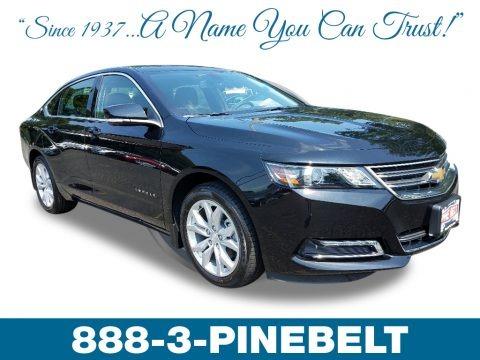 Black 2019 Chevrolet Impala LT