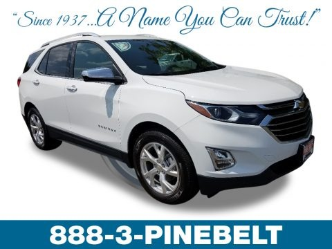 Summit White 2019 Chevrolet Equinox Premier