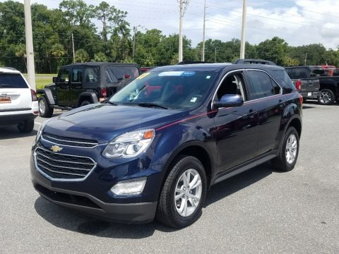 Blue Velvet Metallic 2017 Chevrolet Equinox LT
