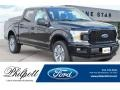 Ford F150 XL SuperCab 4x4 Shadow Black photo #1