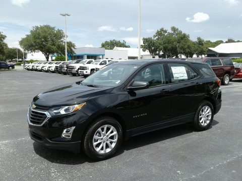 Mosaic Black Metallic 2019 Chevrolet Equinox LS