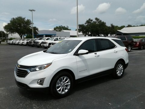 Summit White 2019 Chevrolet Equinox LT