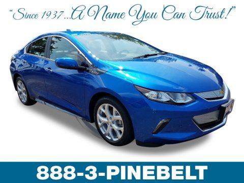 Kinetic Blue Metallic 2018 Chevrolet Volt Premier