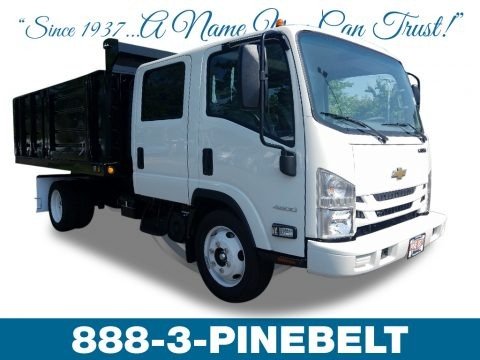 Summit White 2018 Chevrolet Low Cab Forward 4500 Crew Cab Stake Truck