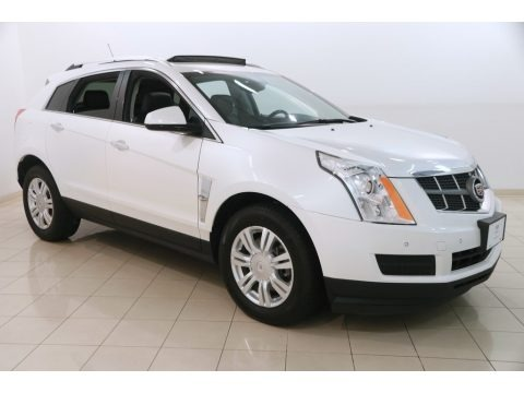Platinum Ice Tricoat 2012 Cadillac SRX Luxury