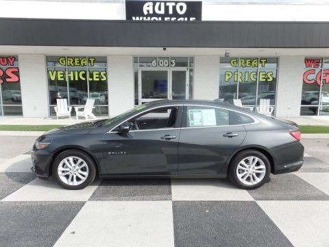Nightfall Gray Metallic 2016 Chevrolet Malibu LT
