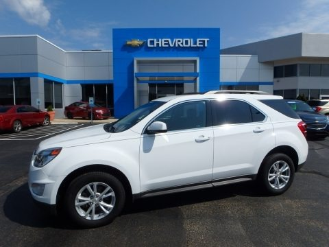 Summit White 2016 Chevrolet Equinox LT AWD
