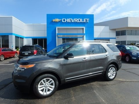 Magnetic 2015 Ford Explorer XLT 4WD
