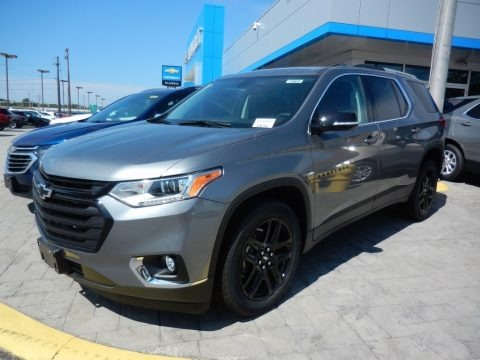 Satin Steel Metallic 2018 Chevrolet Traverse LT AWD