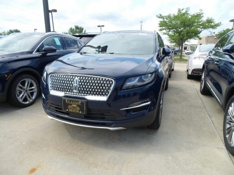 Rhapsody Blue Metallic 2019 Lincoln MKC Reserve AWD