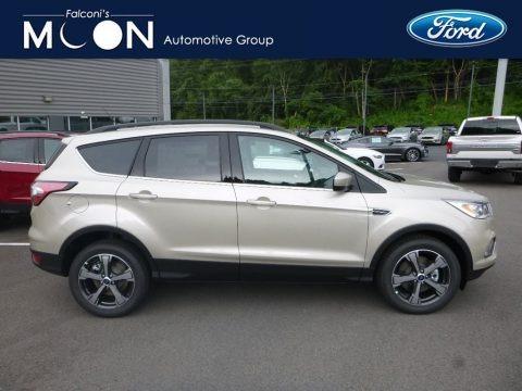 White Gold 2018 Ford Escape SEL 4WD