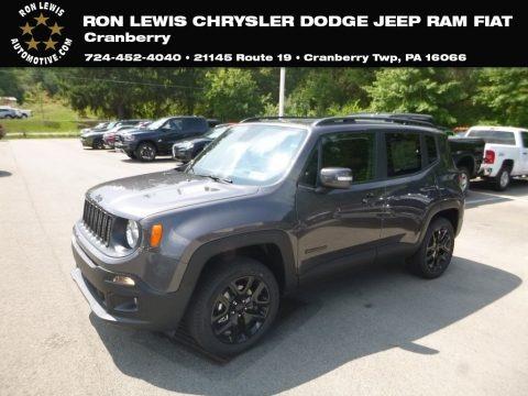 Granite Crystal Metallic 2018 Jeep Renegade Latitude 4x4