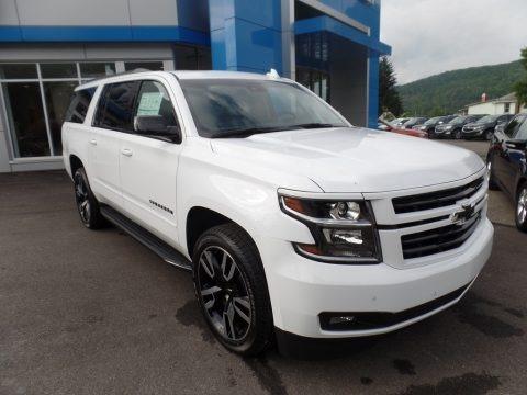 Summit White 2019 Chevrolet Suburban Premier 4WD