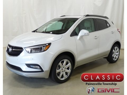 White Frost Tricoat 2019 Buick Encore Essence AWD