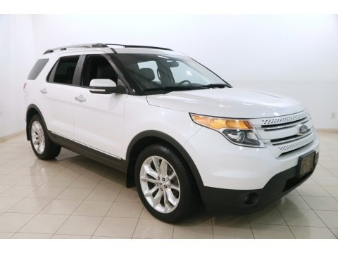 White Platinum 2015 Ford Explorer Limited 4WD