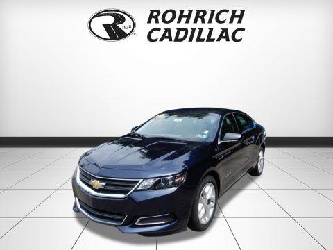 Blue Velvet Metallic 2017 Chevrolet Impala LS
