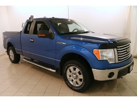 Blue Flame Metallic 2012 Ford F150 XLT SuperCab 4x4