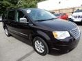 Chrysler Town & Country Touring Brilliant Black Crystal Pearl photo #8