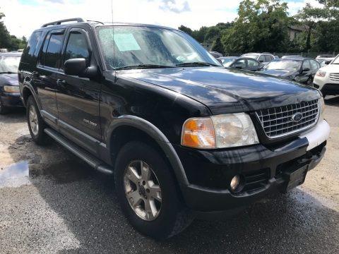 Black 2004 Ford Explorer XLT 4x4