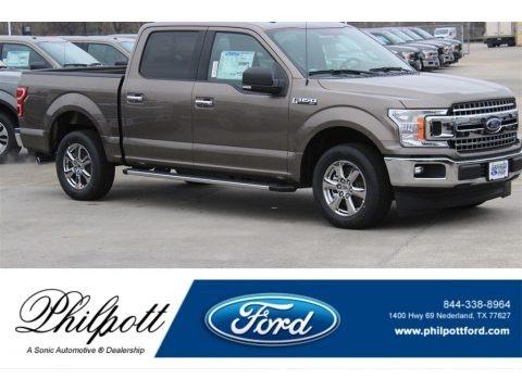 Stone Gray 2018 Ford F150 XLT SuperCrew