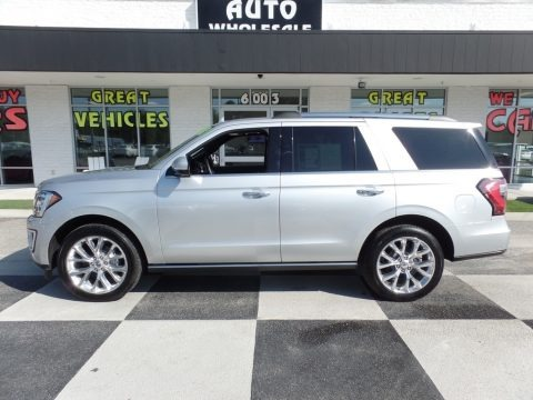 Ingot Silver 2018 Ford Expedition Limited 4x4