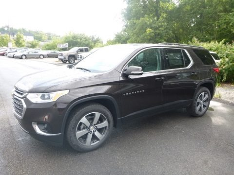 Havana Brown Metallic 2019 Chevrolet Traverse LT AWD