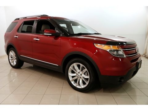 Ruby Red Metallic 2013 Ford Explorer Limited 4WD