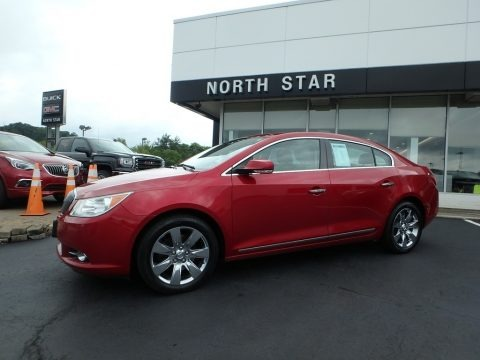 Crystal Red Tintcoat 2013 Buick LaCrosse FWD