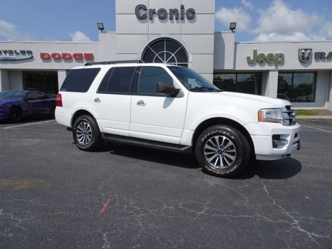 Oxford White 2017 Ford Expedition XLT 4x4