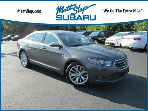 Dark Side Metallic 2015 Ford Taurus Limited