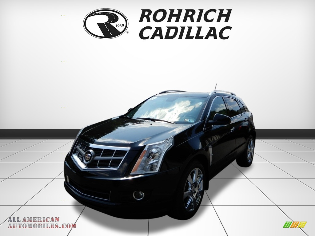 2012 SRX Performance AWD - Black Raven / Ebony/Ebony photo #1