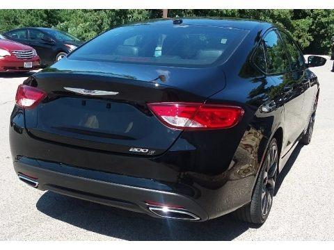 Black 2015 Chrysler 200 S