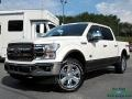 Ford F150 King Ranch SuperCrew 4x4 White Platinum photo #1