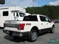 Ford F150 King Ranch SuperCrew 4x4 White Platinum photo #5