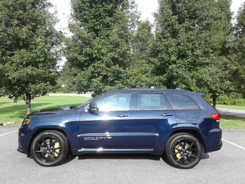 True Blue Pearl 2018 Jeep Grand Cherokee Trackhawk 4x4