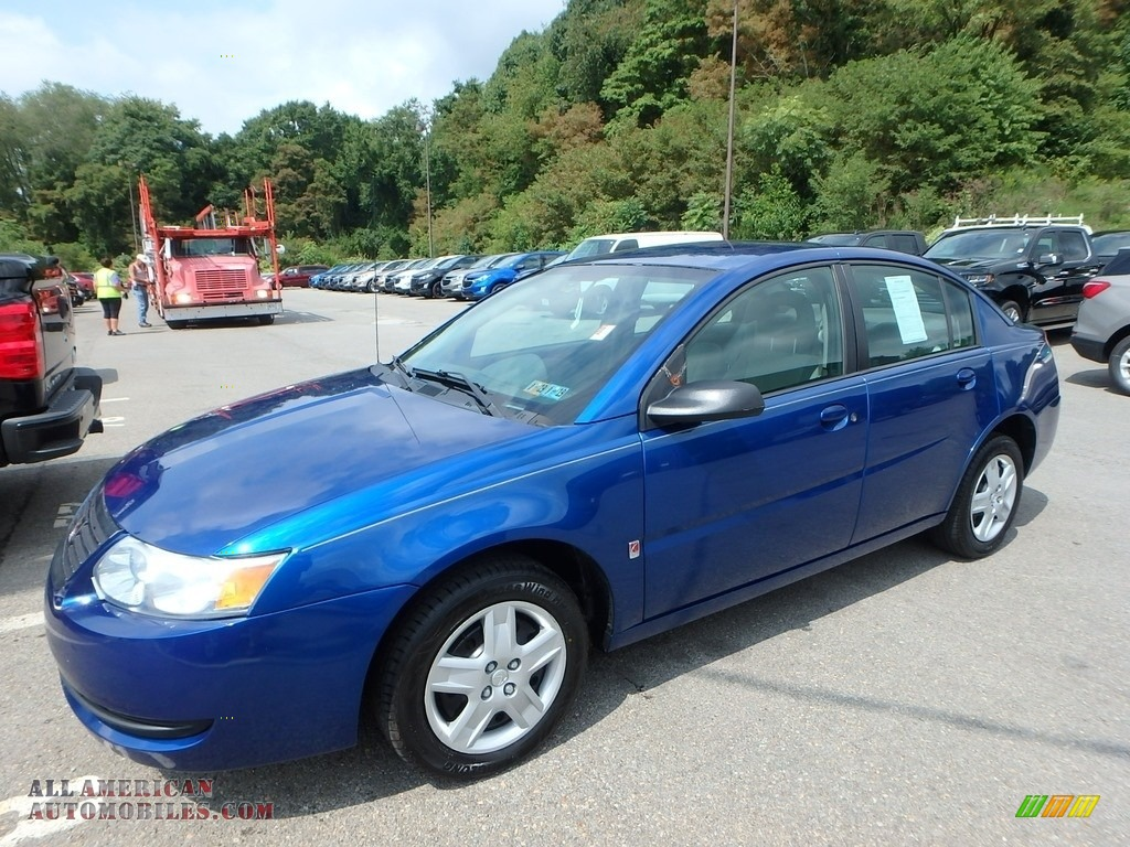 2006 ION 2 Sedan - Pacific Blue / Gray photo #1