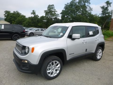 Glacier Metallic 2018 Jeep Renegade Latitude 4x4