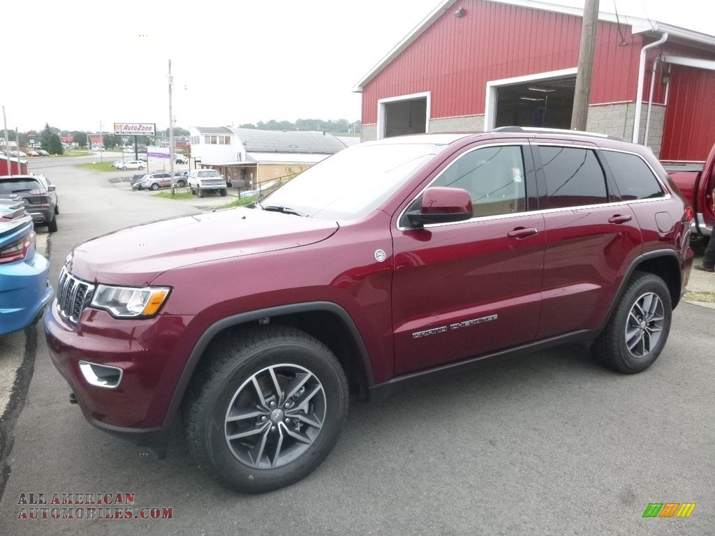 2018 Grand Cherokee Laredo 4x4 - Velvet Red Pearl / Black/Light Frost Beige photo #1