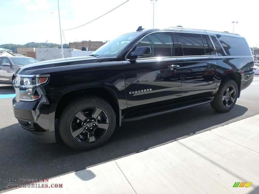 2019 Suburban LT 4WD - Black / Jet Black photo #7