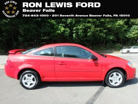 Victory Red 2007 Chevrolet Cobalt LS Coupe