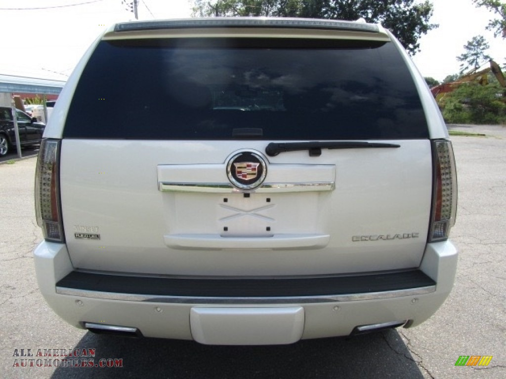 2012 Escalade Premium AWD - White Diamond Tricoat / Cashmere/Cocoa photo #9