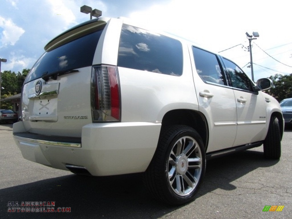2012 Escalade Premium AWD - White Diamond Tricoat / Cashmere/Cocoa photo #10