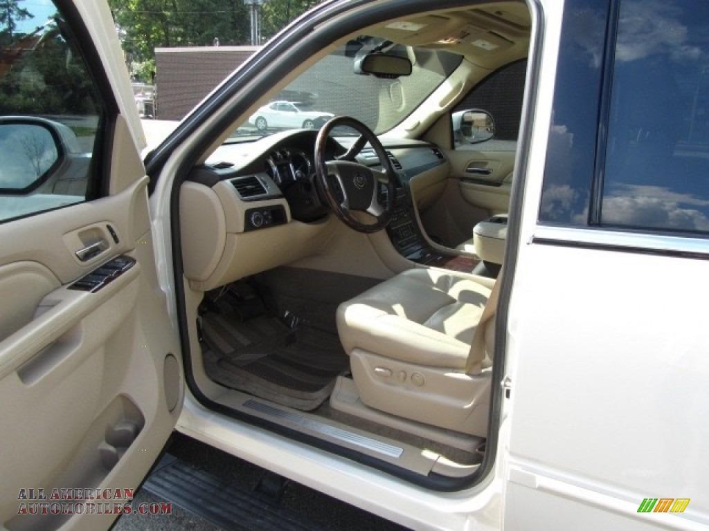 2012 Escalade Premium AWD - White Diamond Tricoat / Cashmere/Cocoa photo #17