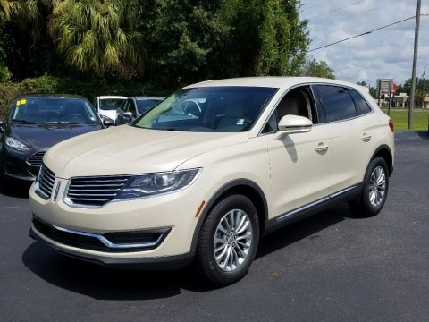 Ivory Pearl Metallic Tri-Coat 2018 Lincoln MKX Select AWD