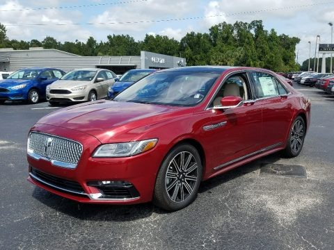 Ruby Red 2018 Lincoln Continental Reserve
