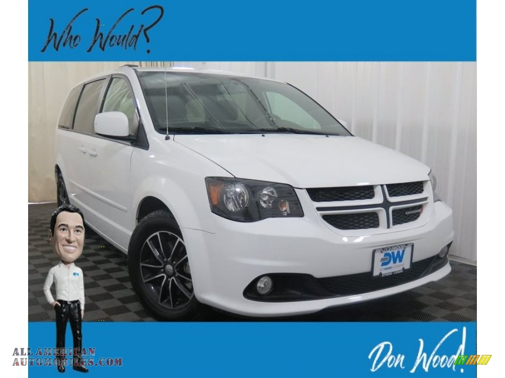White Knuckle / Black Dodge Grand Caravan GT